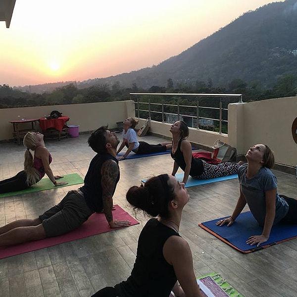 Yoga in Rishikesh